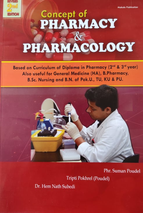 Concept of Pharmacy and Pharamacology